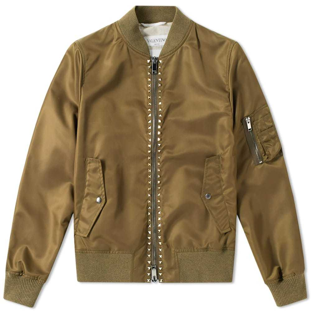 Photo: Valentino Rockstud Bomber Jacket