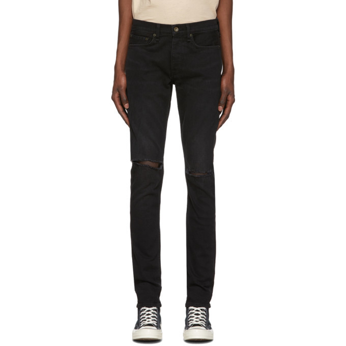 Photo: rag and bone Black Fit 1 Jeans