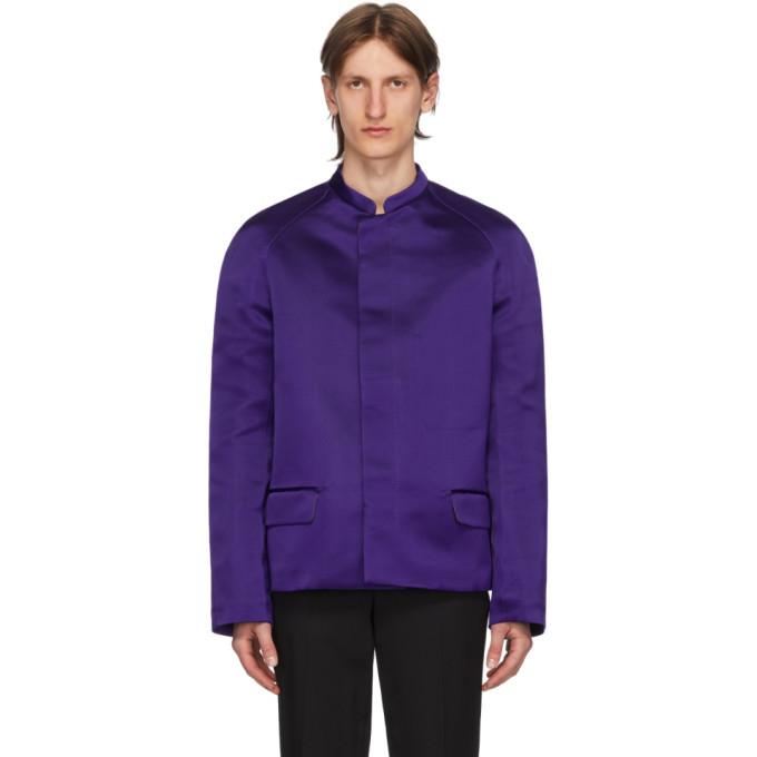 Photo: Haider Ackermann Purple Taroni Jacket
