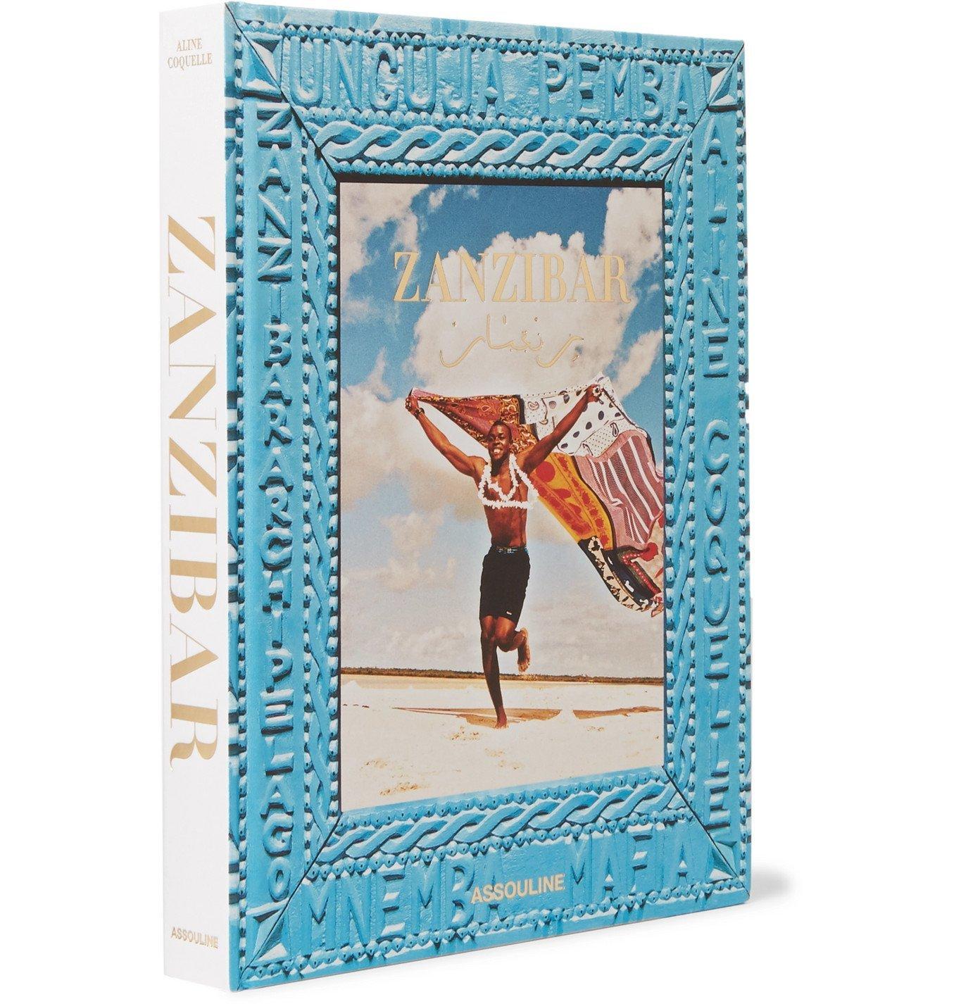 Photo: Assouline - Zanzibar Hardcover Book - Blue