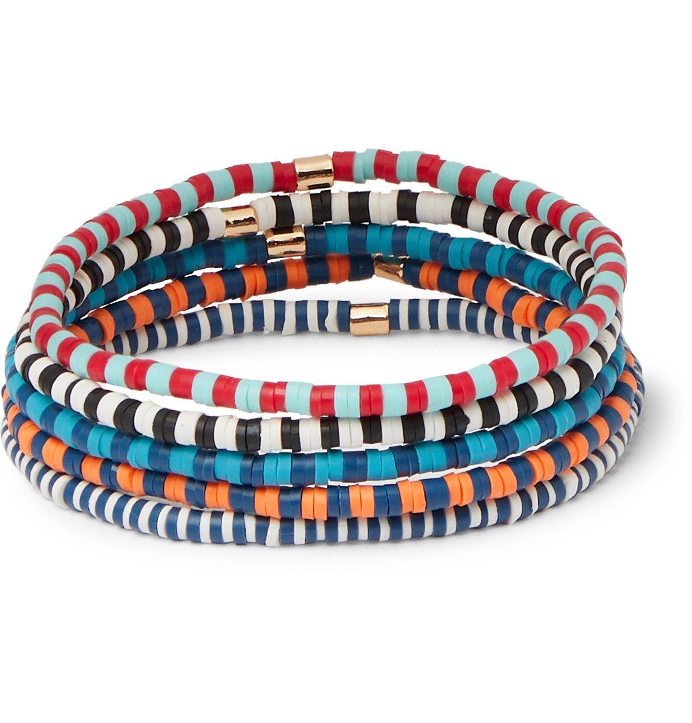 Photo: Roxanne Assoulin - Pack of 5 Beaded Bracelets - Multi