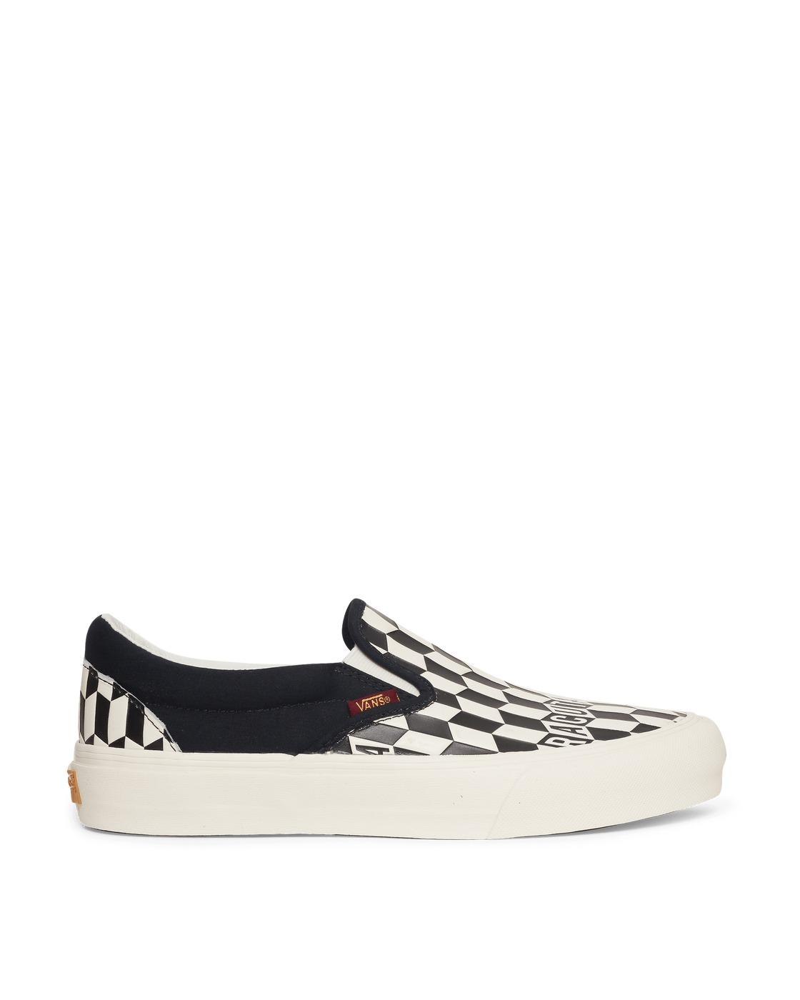Photo: Vans Baracuta Classic Slip On Vlt Lx Sneakers Black/White