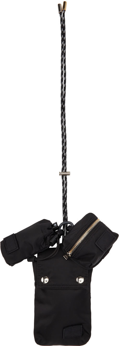 Sacai Black Porter Edition Multi-Pouch Bag