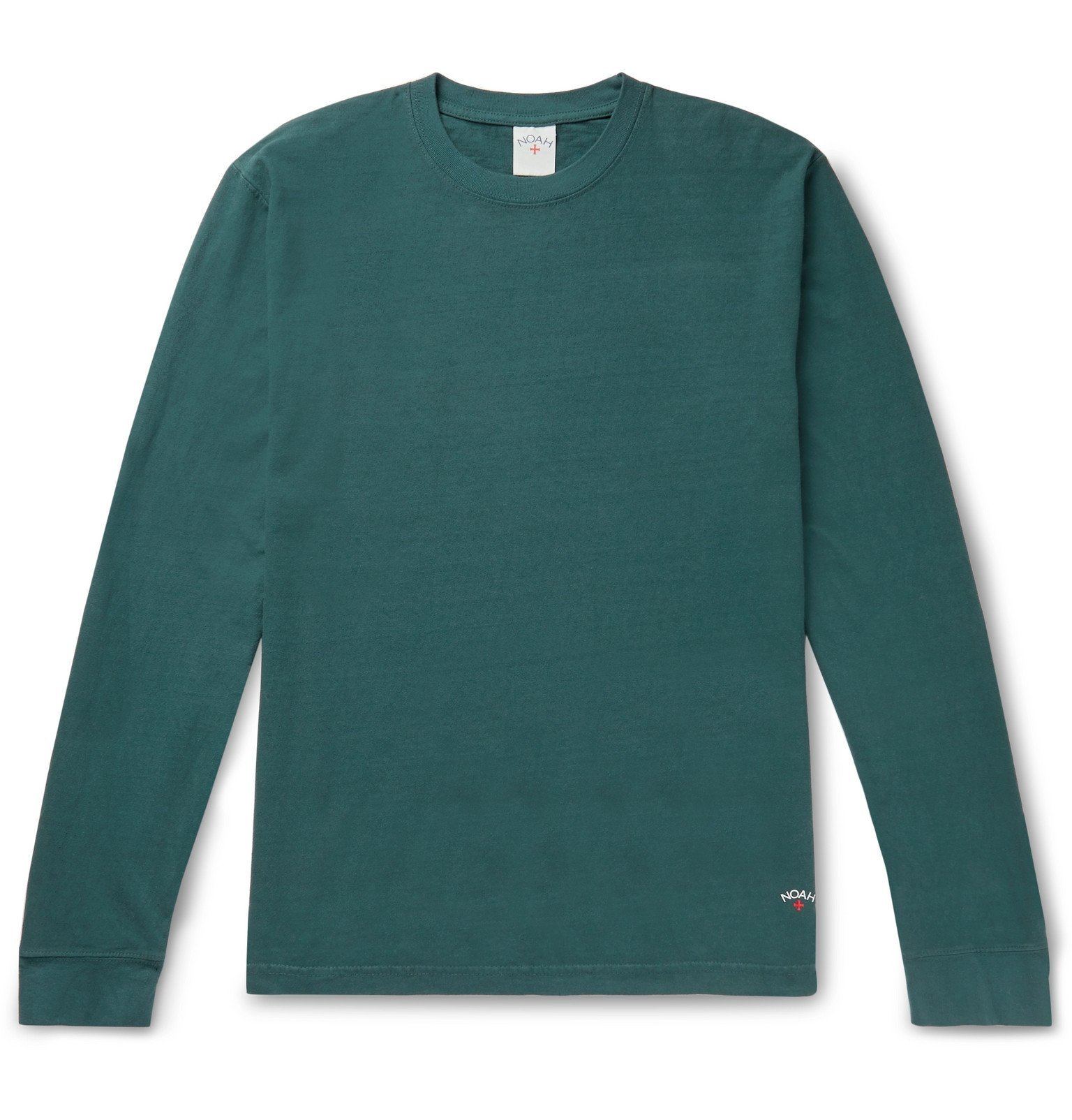 Photo: Noah - Recycled Cotton-Jersey T-Shirt - Green