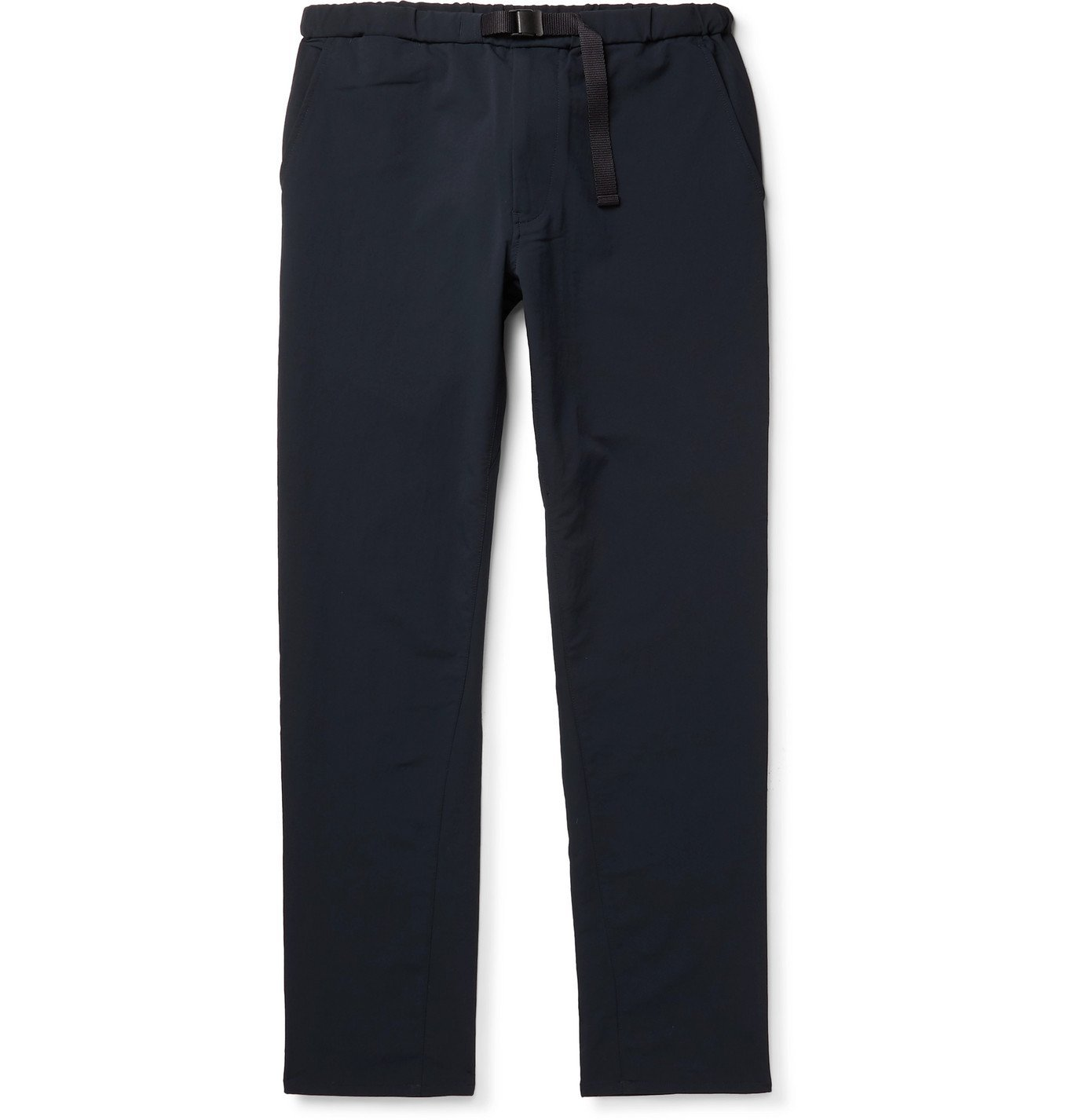 Photo: nanamica - Slim-Fit Belted ALPHADRY Suit Trousers - Blue