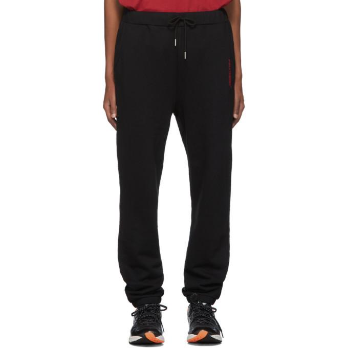 Photo: Polythene* Optics Black Fleece Lounge Pants