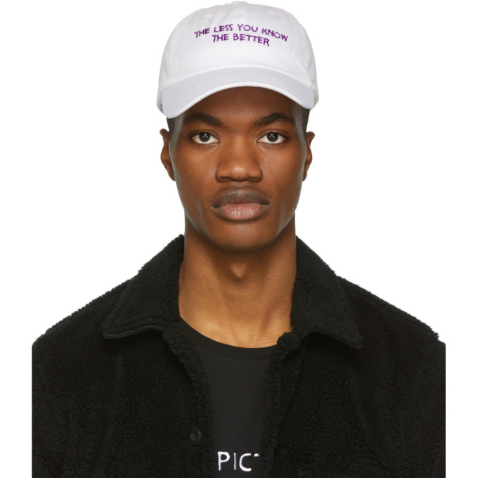 Photo: Nasaseasons White and Purple The Less You Know The Better Cap