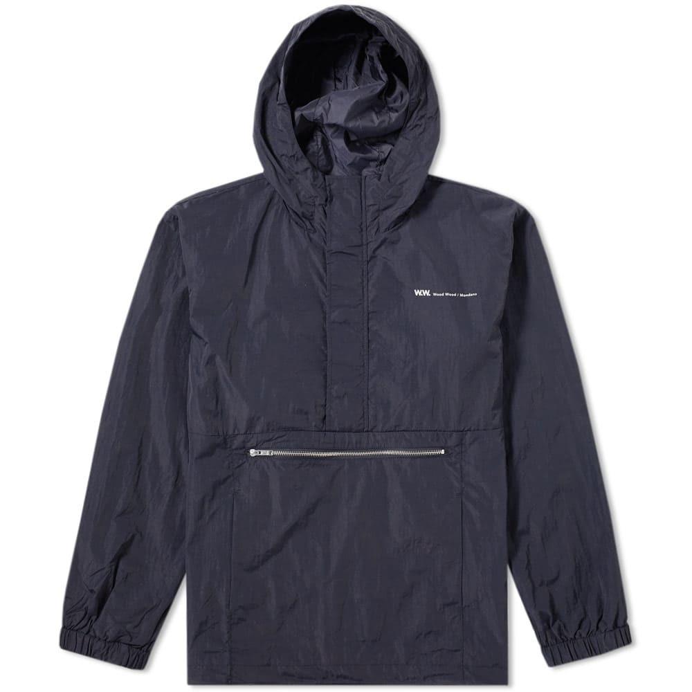 Wood Wood Loy Popover Jacket Blue