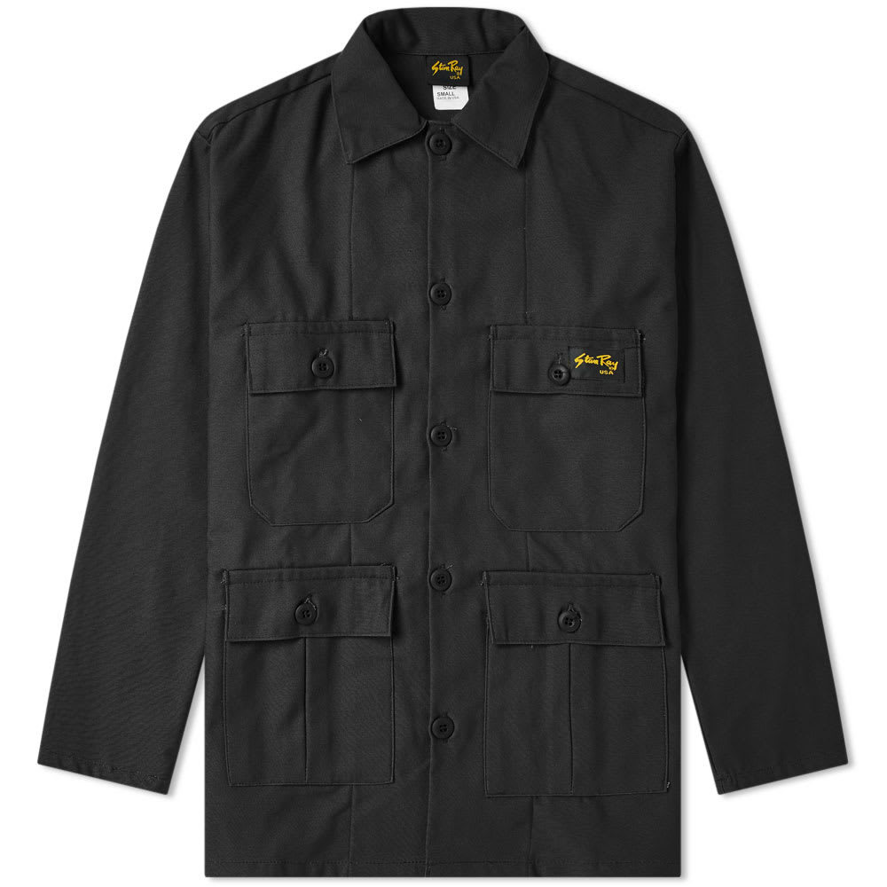 Photo: Stan Ray Four Pocket Jacket Black Ripstop