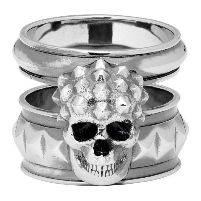 Photo: Alexander McQueen Silver Snake Ring