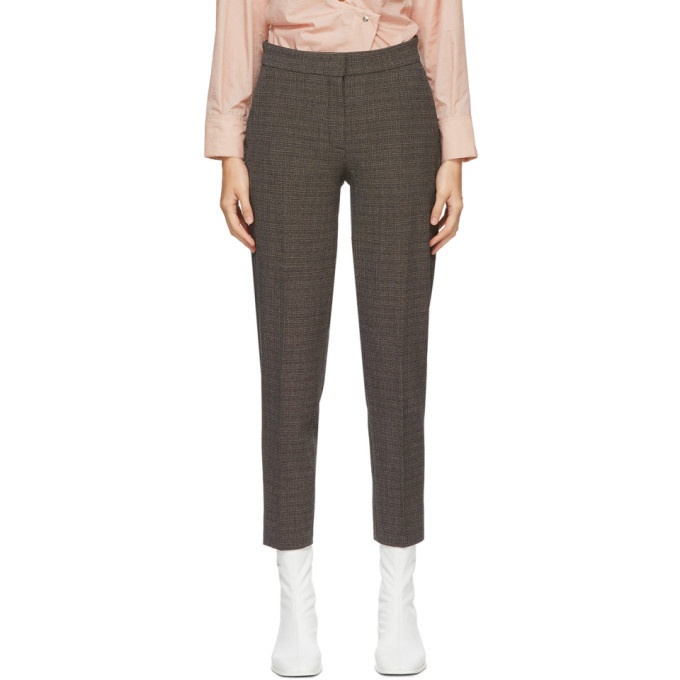 Photo: Won Hundred Brown Check Elissa Trousers