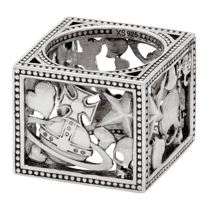 Photo: Vivienne Westwood Silver Aaron Square Ring