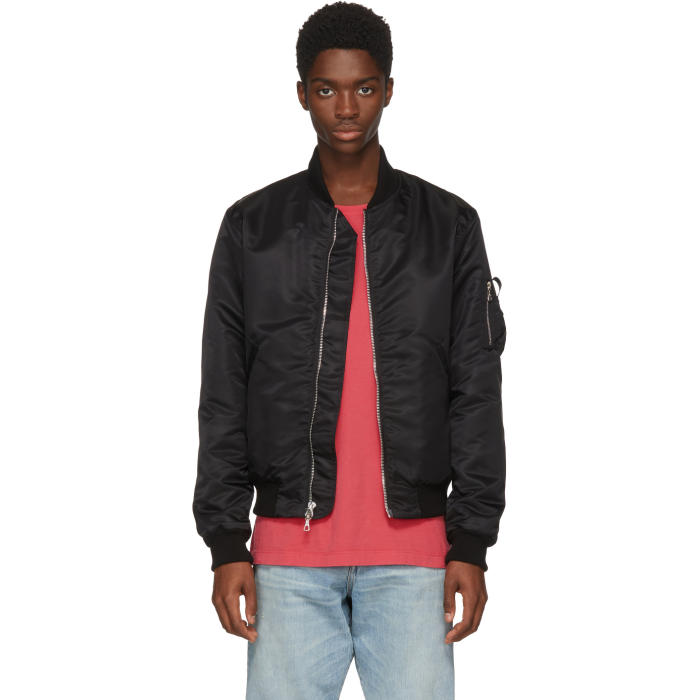 Photo: John Elliott Black Bogota Bomber Jacket