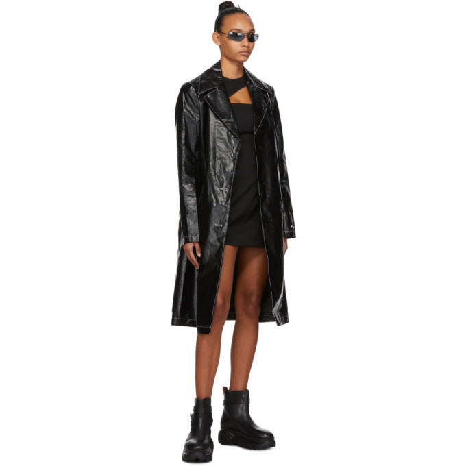 032c Black Cut-Out Dress