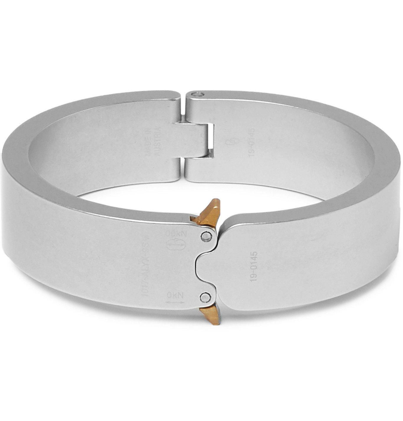 Photo: 1017 ALYX 9SM - Silver-Tone Bracelet - Silver