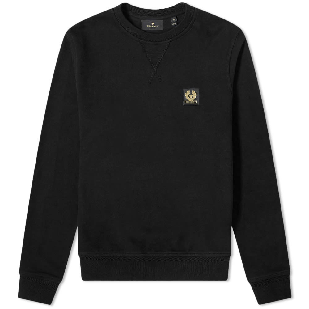 Photo: Belstaff Patch Logo Crew Sweat