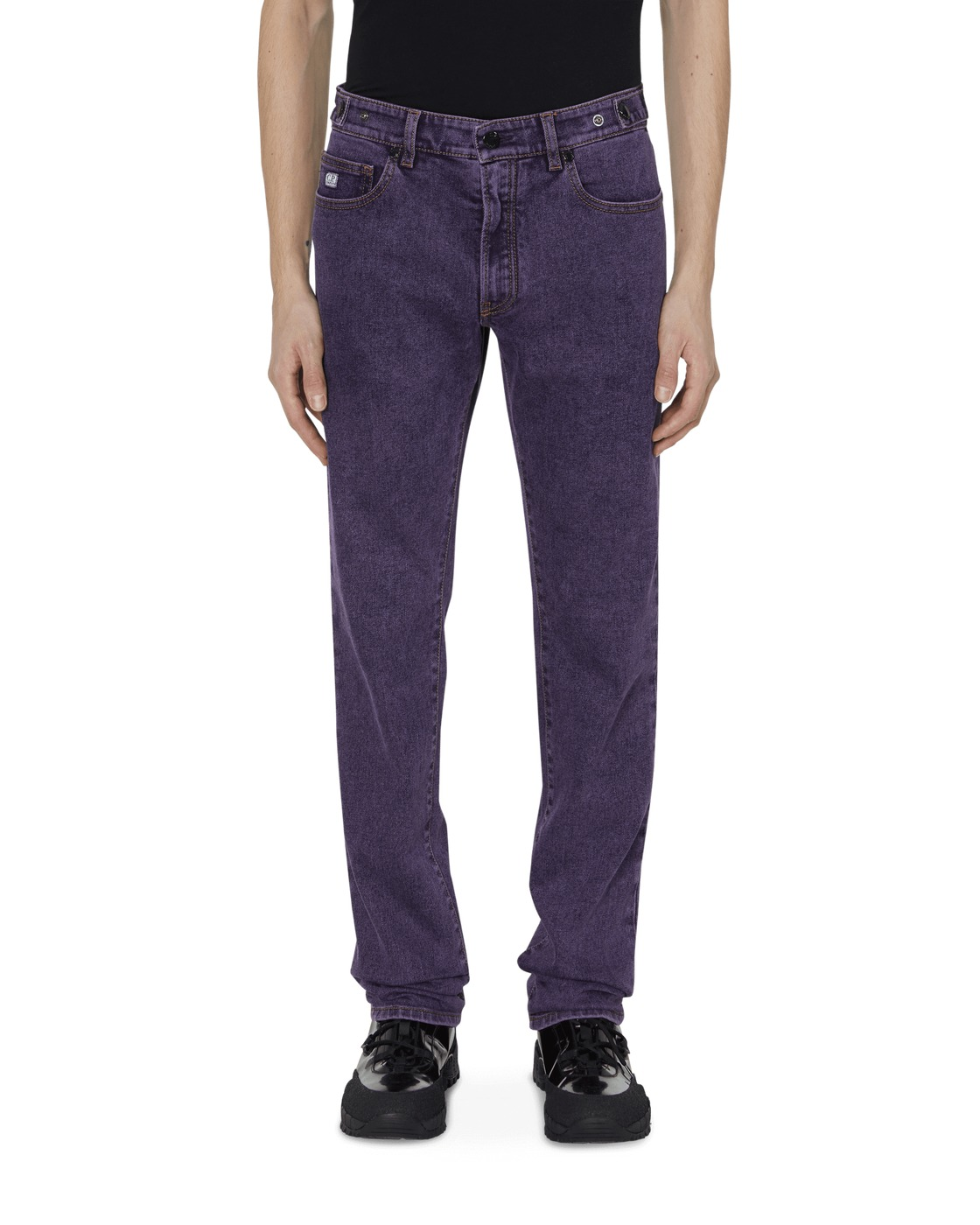 C.P. Company Denim Pants Striking Purple