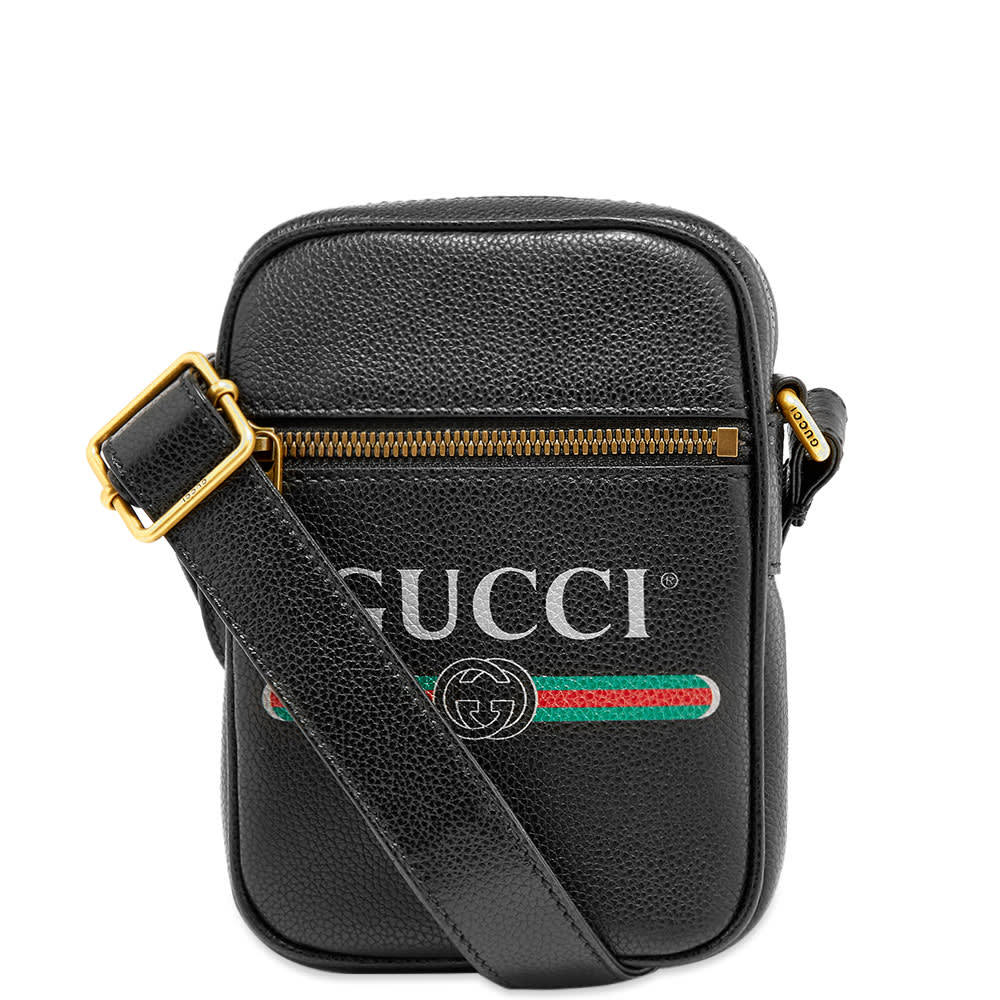 Photo: Gucci Print Mini Messenger Bag