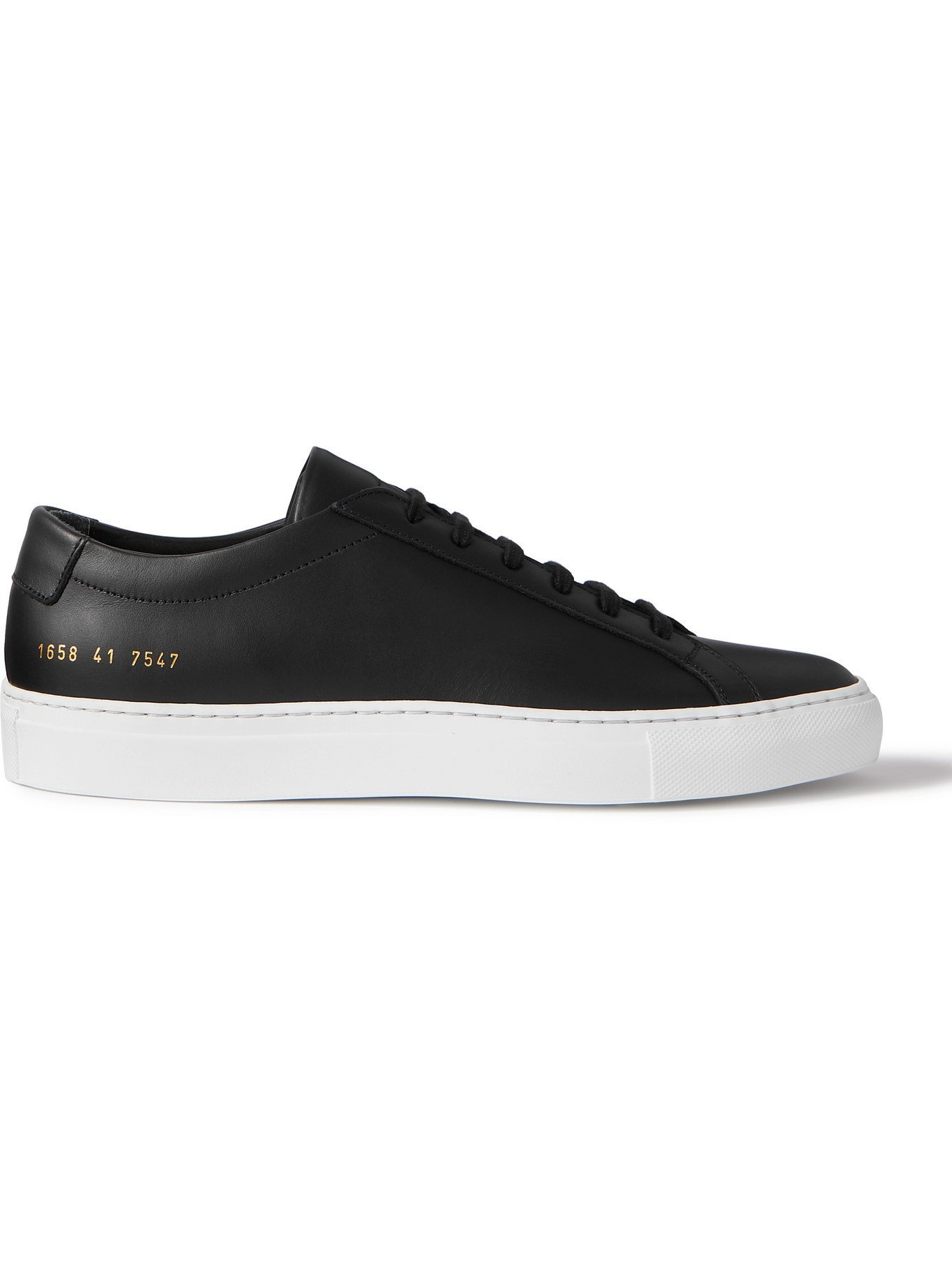 Photo: COMMON PROJECTS - Original Achilles Leather Sneakers - Black
