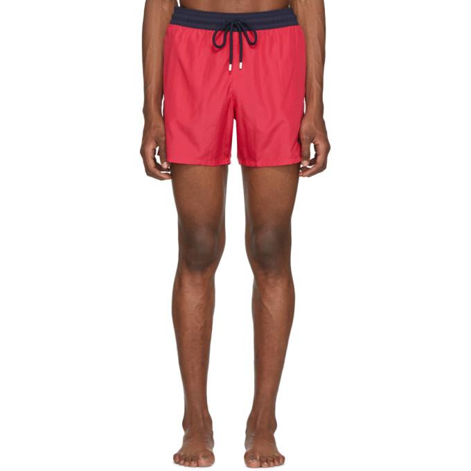 Photo: Vilebrequin Pink Bicolor Moxe Swim Shorts