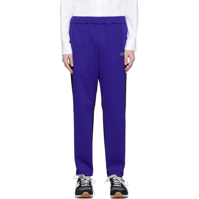 Photo: Comme des Garcons Homme Blue and Navy Jersey Lounge Pants
