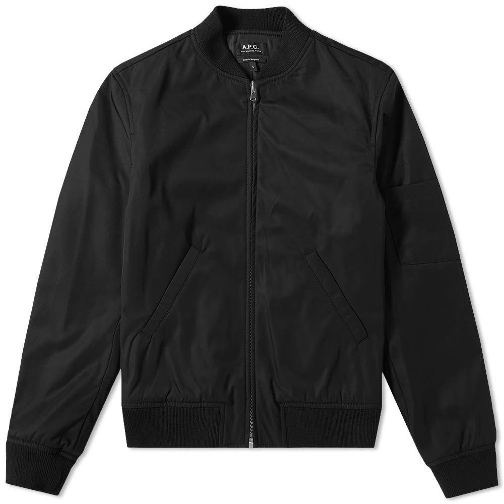 Photo: A.P.C. Zip Bomber Jacket
