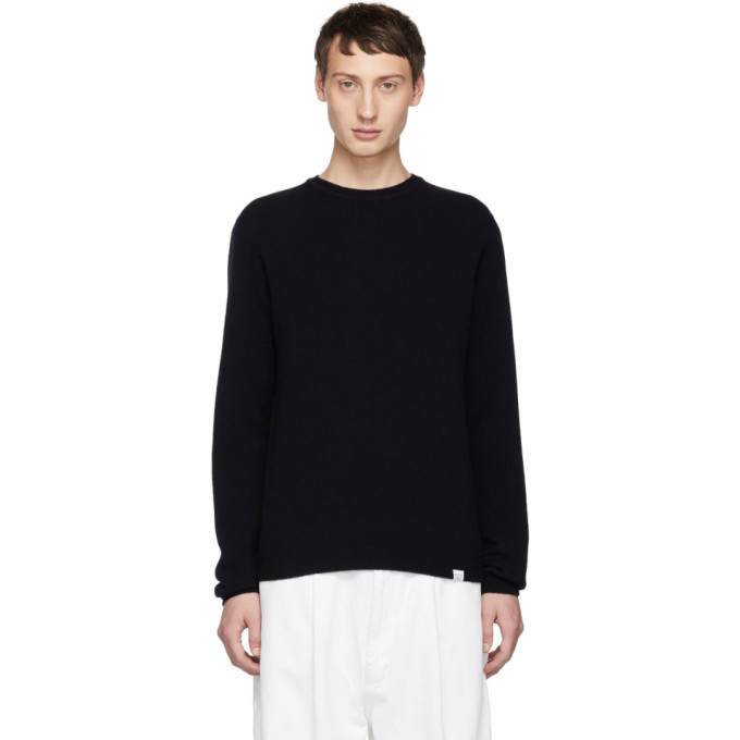 Photo: Norse Projects Navy Sigfred Sweater