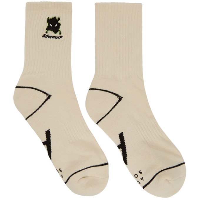 Photo: ADER error White Vader Socks