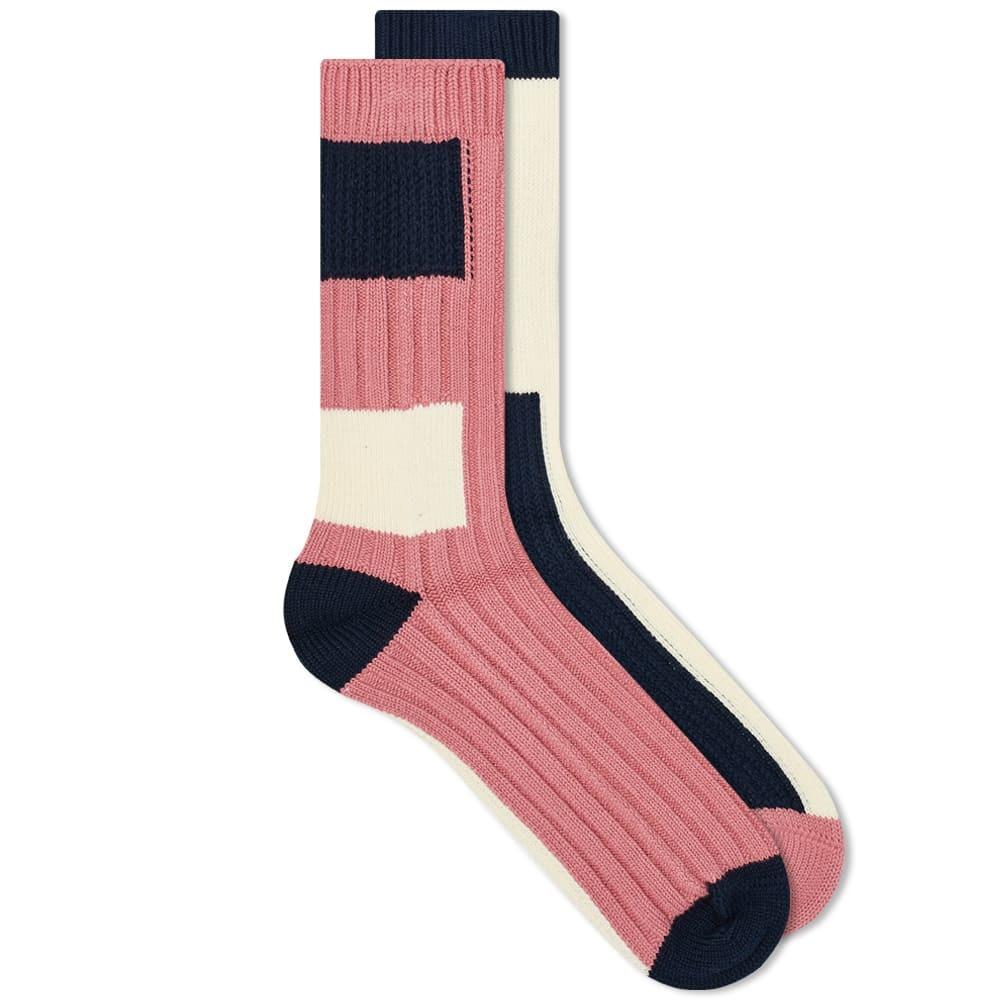 Sacai Colour Block Knit Socks