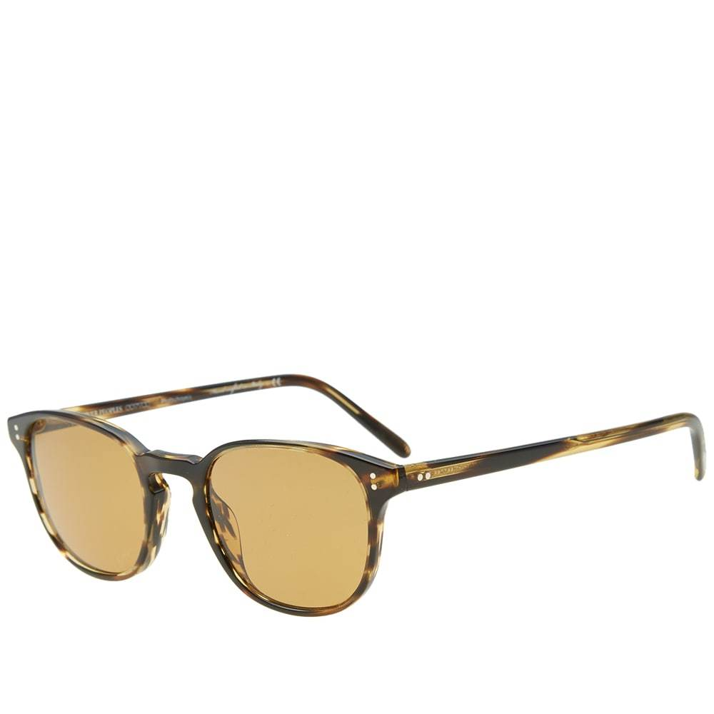 Oliver Peoples Fairmont Sunglasses Brown