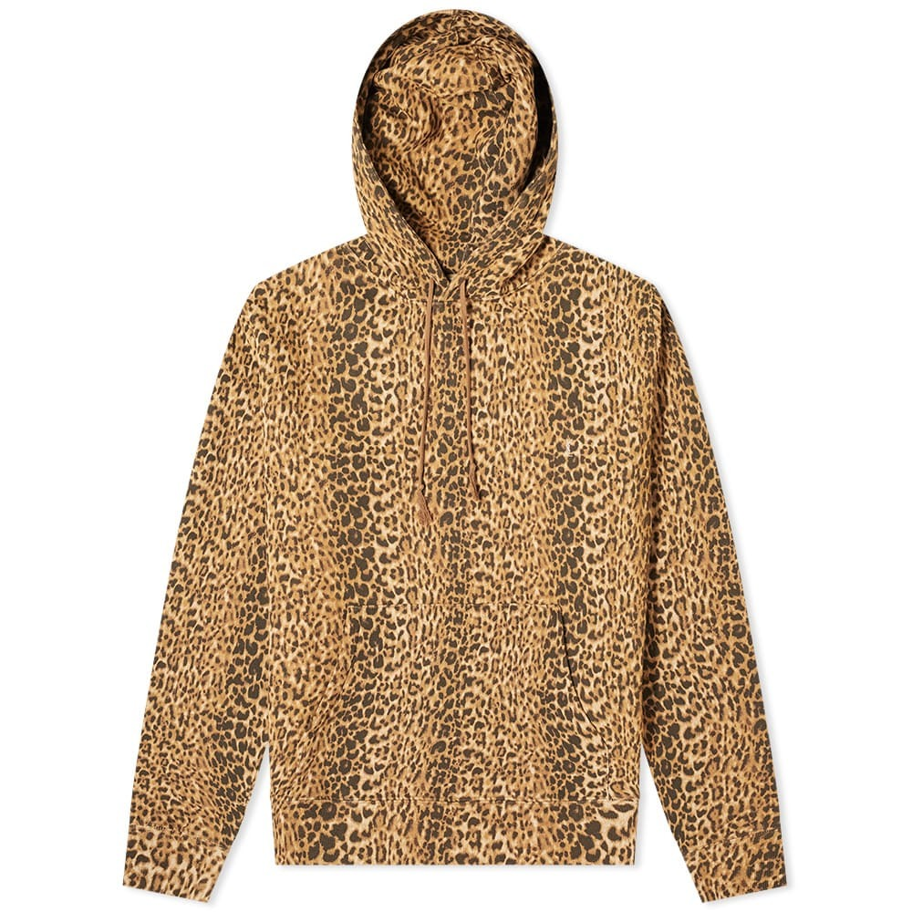 Photo: Saint Laurent Leopard Print Hoody