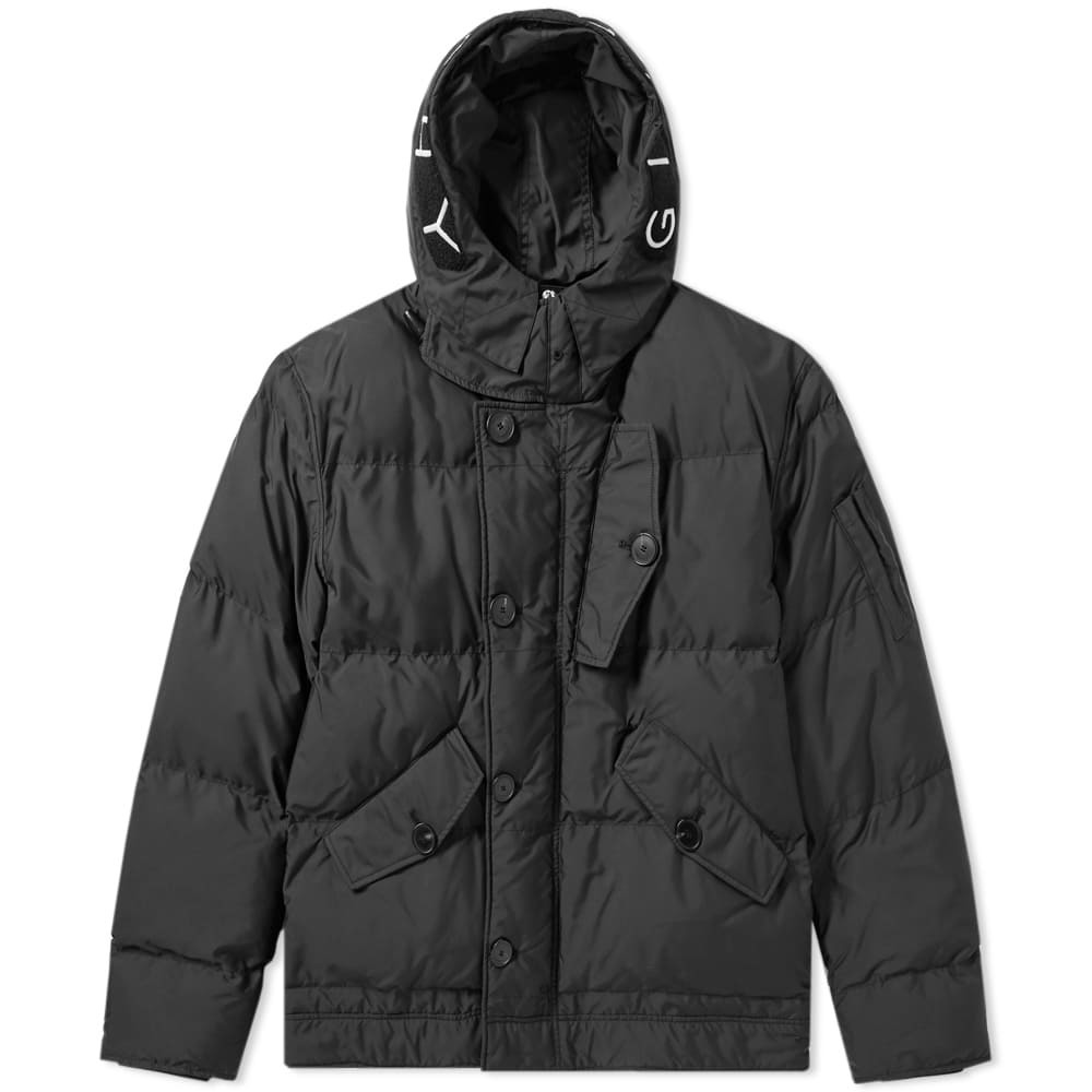 Photo: Givenchy Hooded Down Parka Black