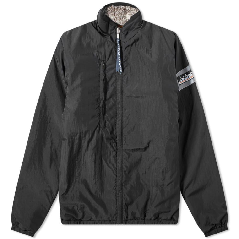 Aries Reversible Patchwork Fleece Jacket
