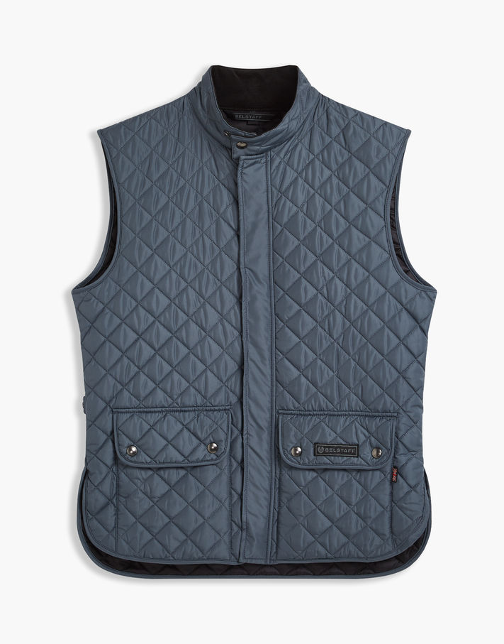 Photo: Belstaff The Waistcoat Red