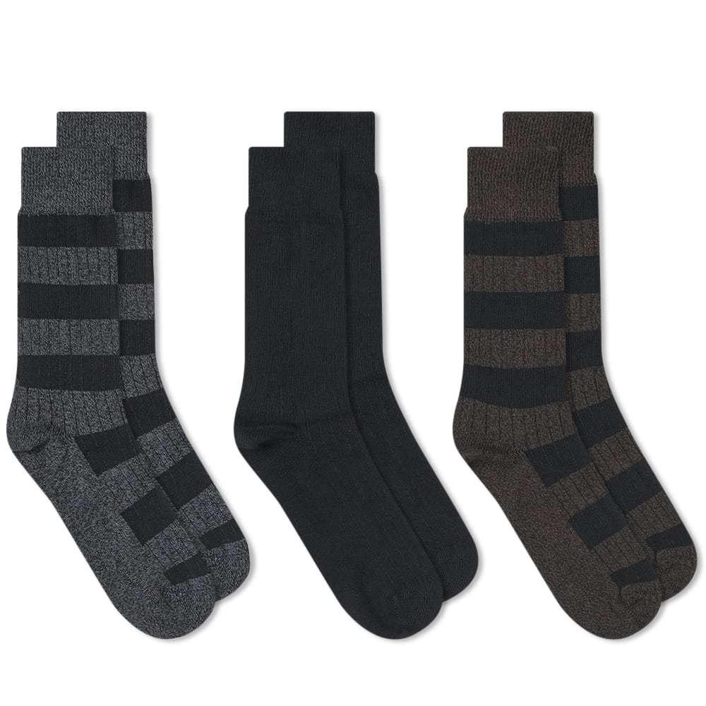 Photo: Schiesser Fritz 3 Pack Socks