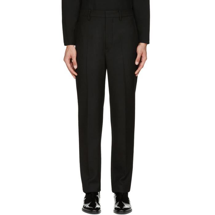 Lemaire Black Suit Trousers