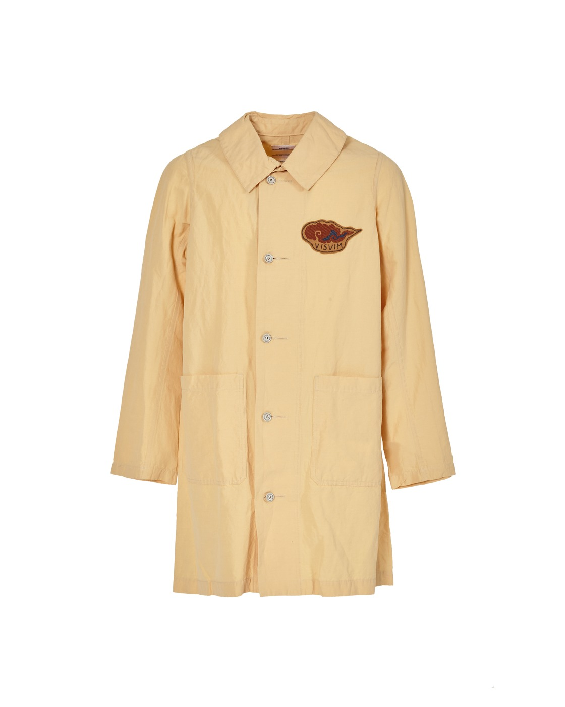 Photo: Visvim Grease Monkey Coat Beige