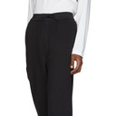 Y-3 Black Classic Cropped Lounge Pants