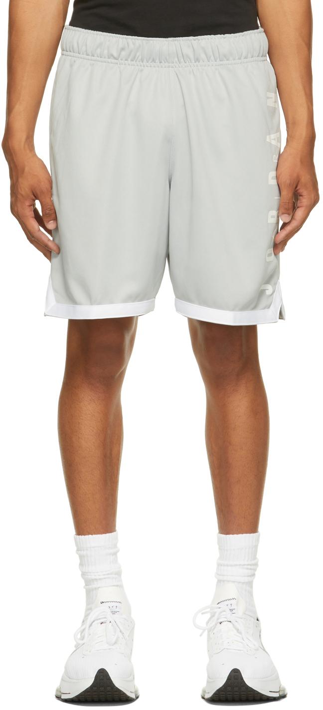 Photo: Nike Jordan Grey Jumpman GFX Shorts