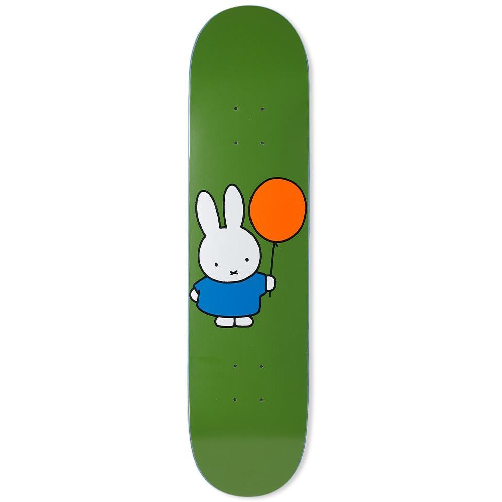 "Photo: Pop Trading Company Miffy Balloon 7.75"" Skate Deck"