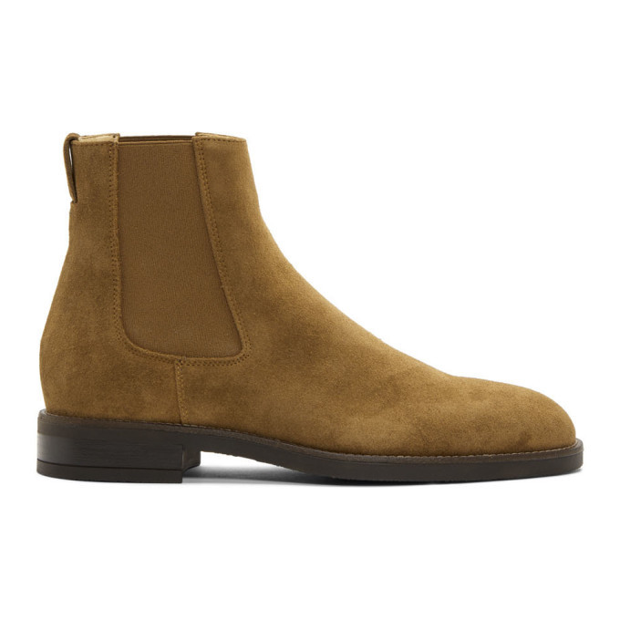 Photo: Paul Smith Tan Suede Canon Chelsea Boots