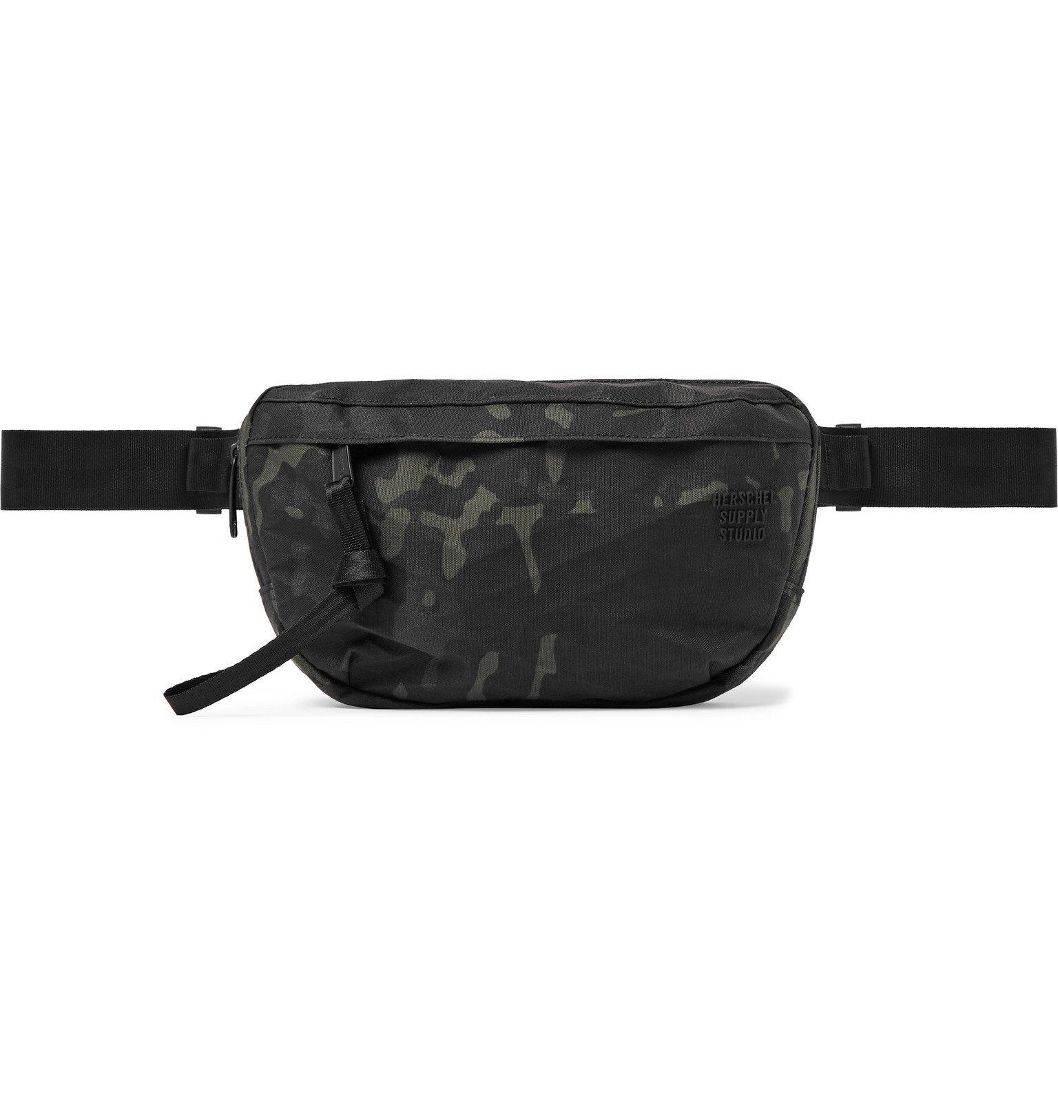 Photo: Herschel Supply Co - Nineteen Camouflage-Print Nylon-Ripstop Belt Bag - Green