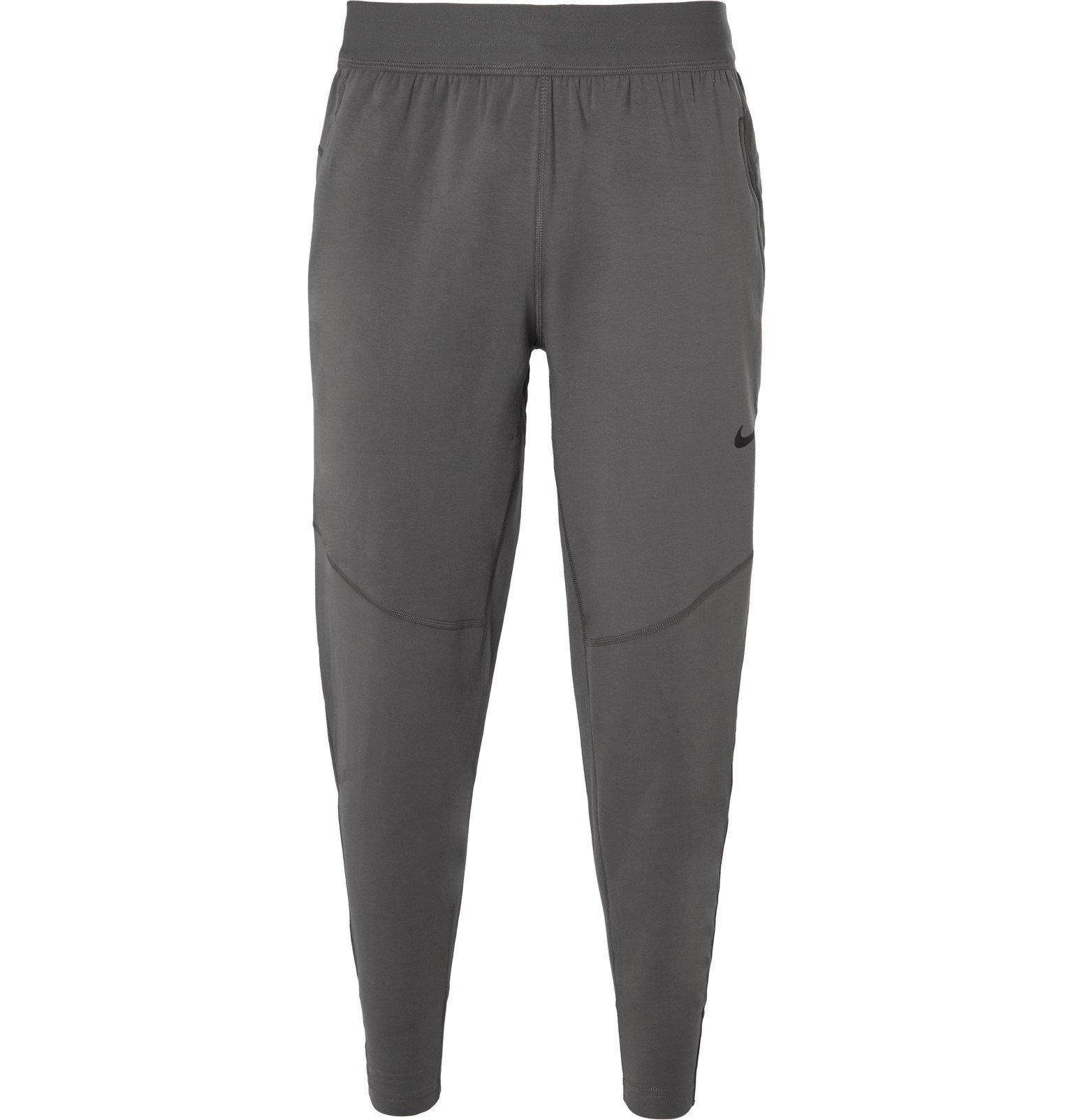 Photo: Nike Training - Tapered Dri-FIT Sweatpants - Gray