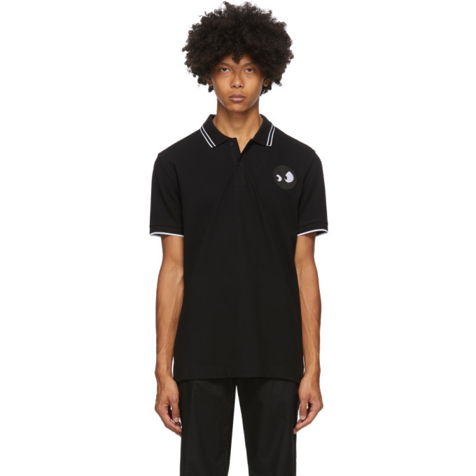 Photo: McQ Alexander McQueen Black Monster Badge Polo