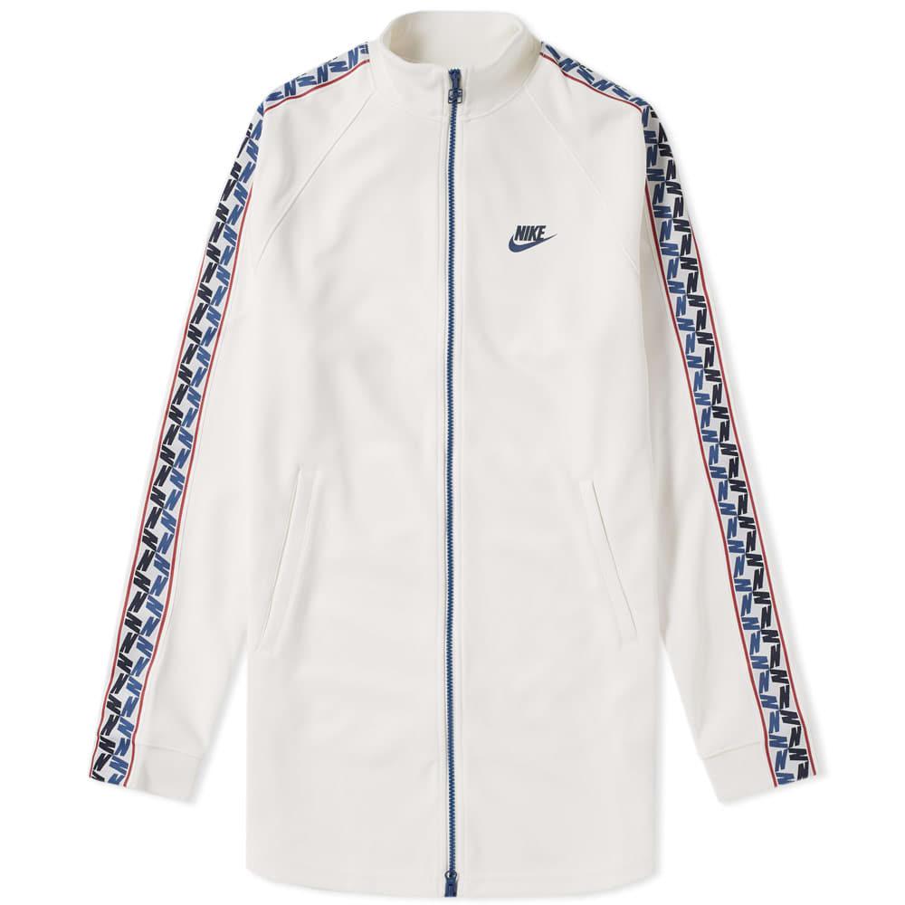 Nike Taped Poly Track Jacket White NikeLab