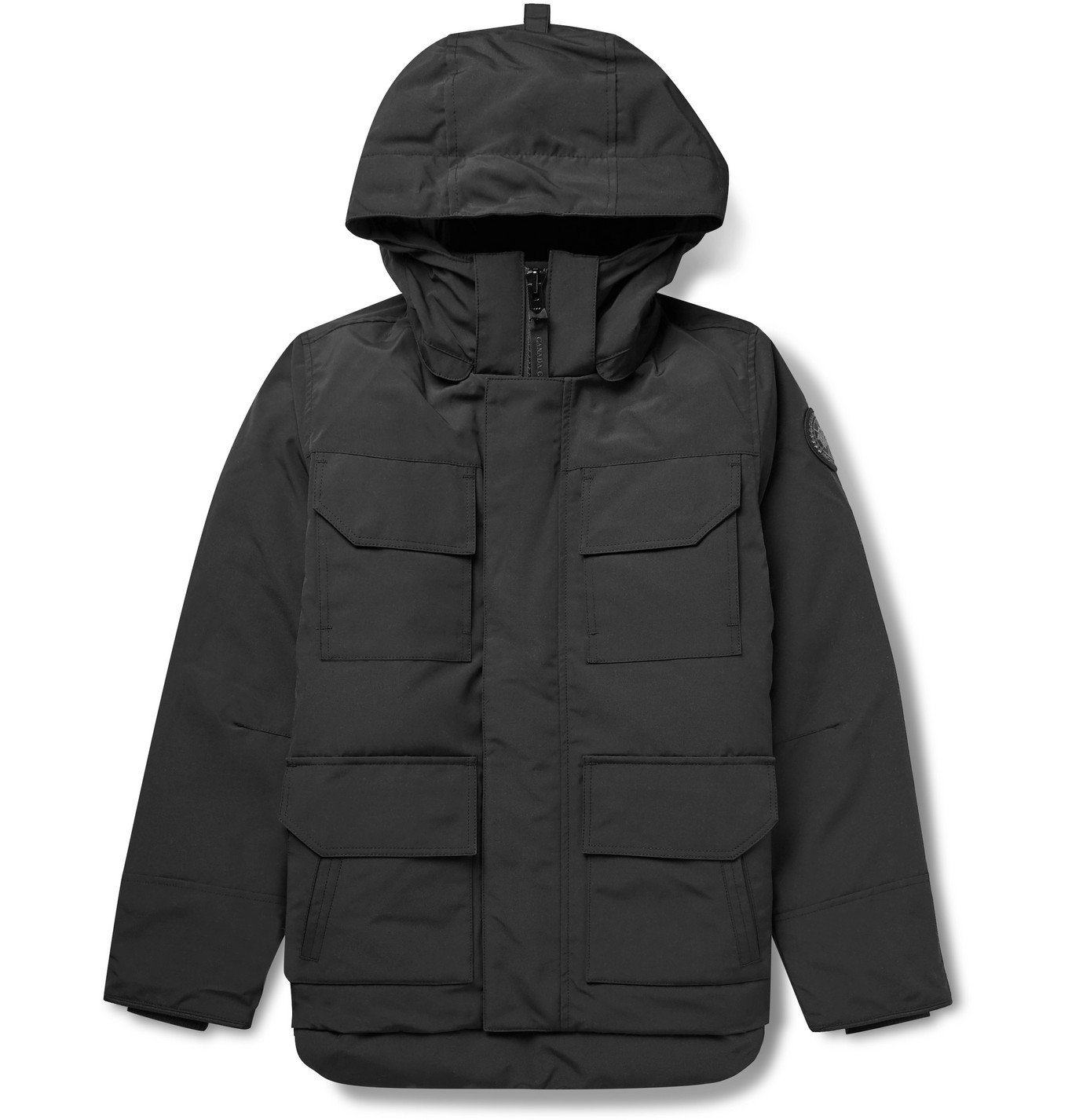 Photo: Canada Goose - Maitland Slim-Fit Quilted Shell Hooded Down Parka - Black