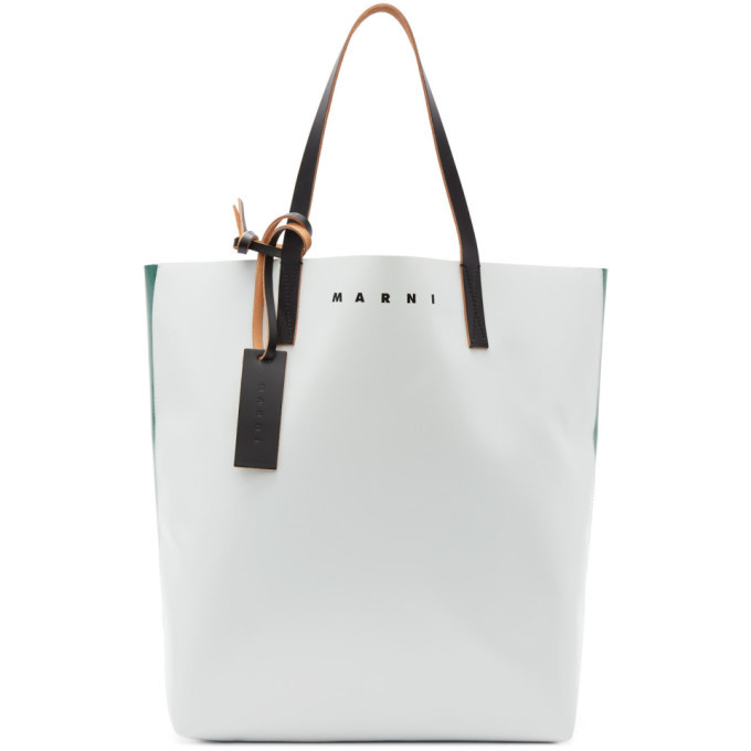 Photo: Marni Green and Off-White PVC Tote