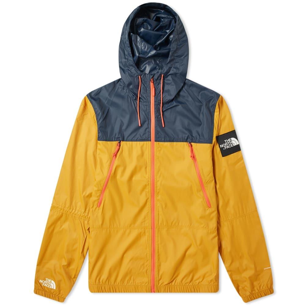Photo: The North Face 1990 Seasonal Mountain Jacket Citrine Yellow & Urban Navy
