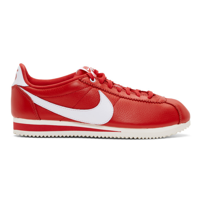 Photo: Nike Red Stranger Things Edition Classic Cortez QS Sneakers