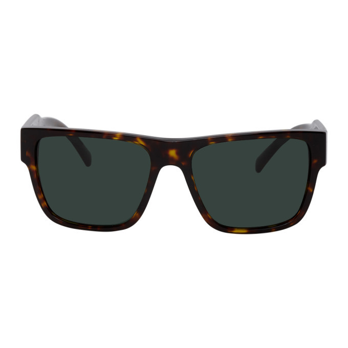 Photo: Versace Tortoiseshell Vintage Logo Sunglasses
